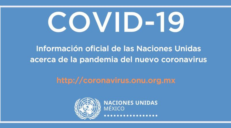 Sitio Web Coronavirus COVID-19