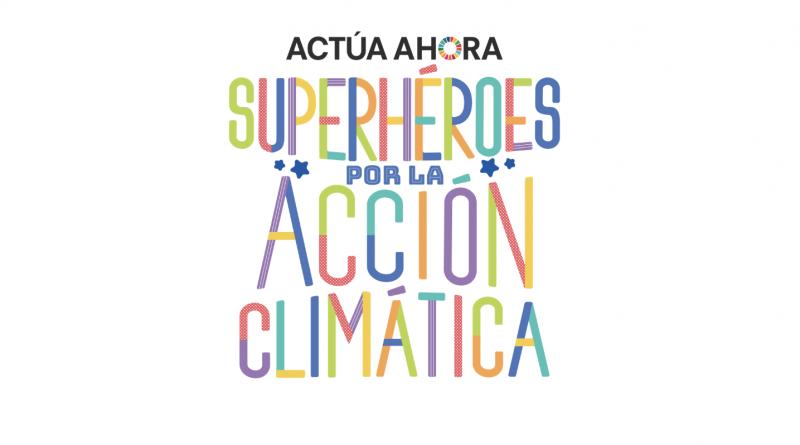Vale nos presenta a los superhéroes por la acción climática